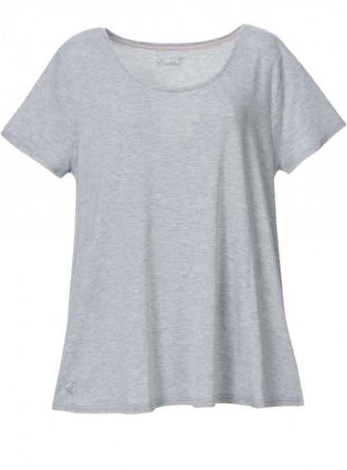 KUN XL! Bambus T-shirt i gråmelange