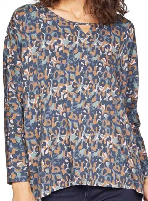 Bambus bluse oversize med mønster, Madelyn fra Thought